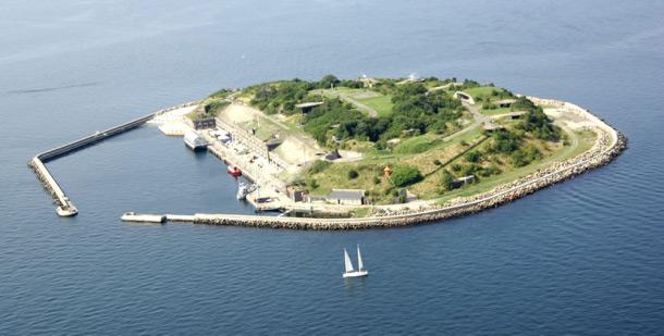 vista de kings island en dinamarca