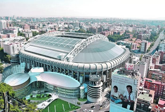 proyecto sobre el estadio bernabéu. foto: as.com