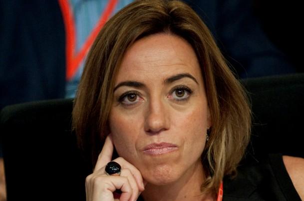 carme chacón, ex ministra de vivienda del psoe
