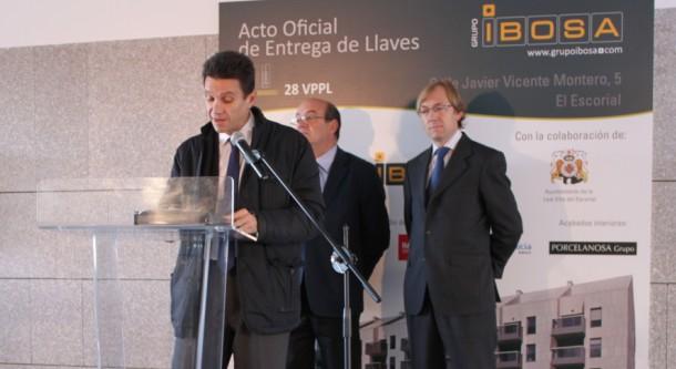 ACTO OFICIAL DE ENTREGA DE LLAVES DE 28 VPPL EN EL ESCORIAL