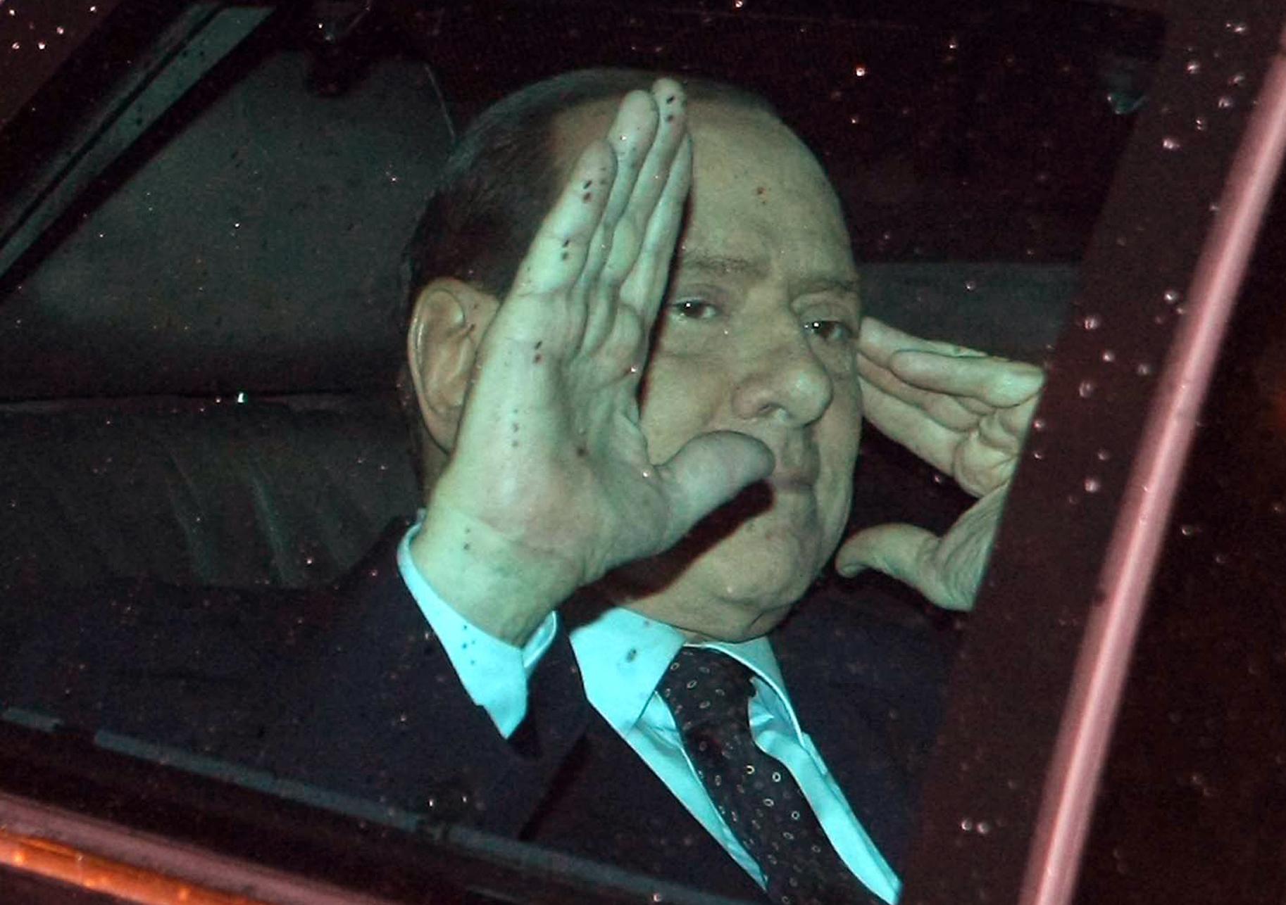 silvio berlusconi, primer ministro italiano
