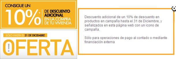 imagen de la promoción en la web inmobiliaria de la cam