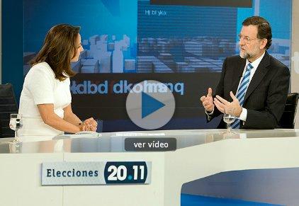 """Rajoy: """"habrá que decirle a los bancos que dieron hipotecas por pisos a 100, que los vendan por 70 y asuman la pérdida"""""""