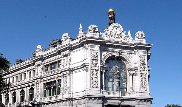 exterior del edificio del banco de españa