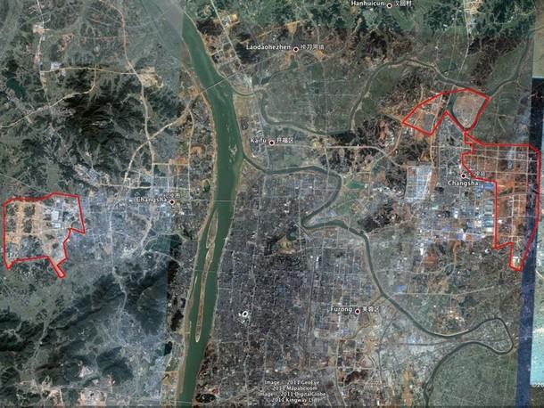 12 ciudades fantasma en China a vista de pájaro (fotos)