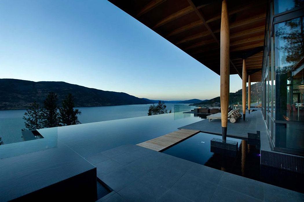 villa contemporánea con vistas al lago - canadá