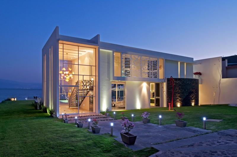 vista exterior de la vivienda en jalisco