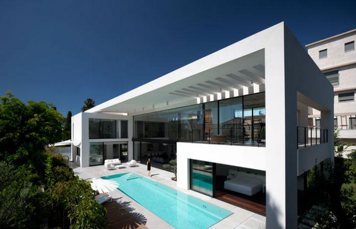 Vivienda minimalista de estilo contempor neo en haifa for Viviendas estilo minimalista