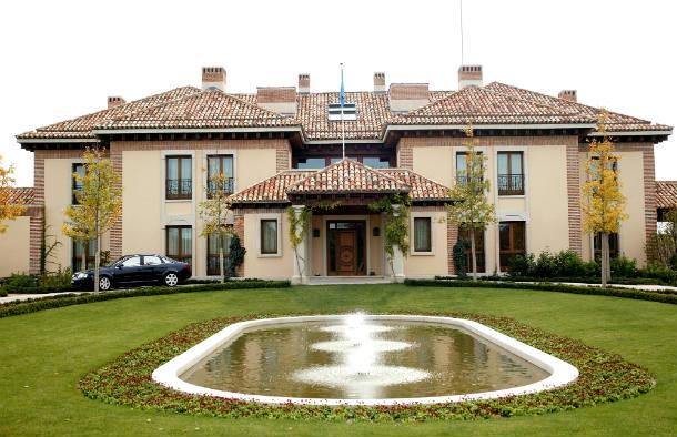 residencia del príncipe de asturias