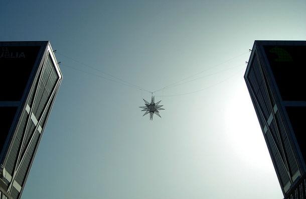 imagen de las torres kio de madrid