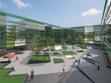 El parque empresarial avenida de am rica 115 sigue sin for Santander oficinas valencia