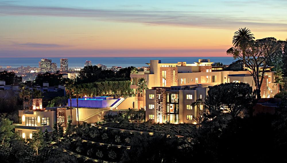 mega-mansión con 28 dormitorios - los ángeles