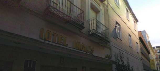 fachada del hotel inglés (fuente: google maps)