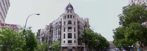 palacio de luchana en madrid (fuente: google maps)