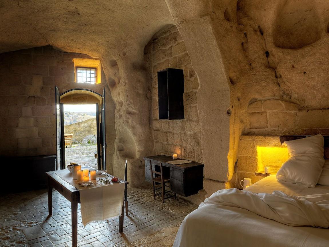 habitaciones de lujo en cuevas prehistóricas