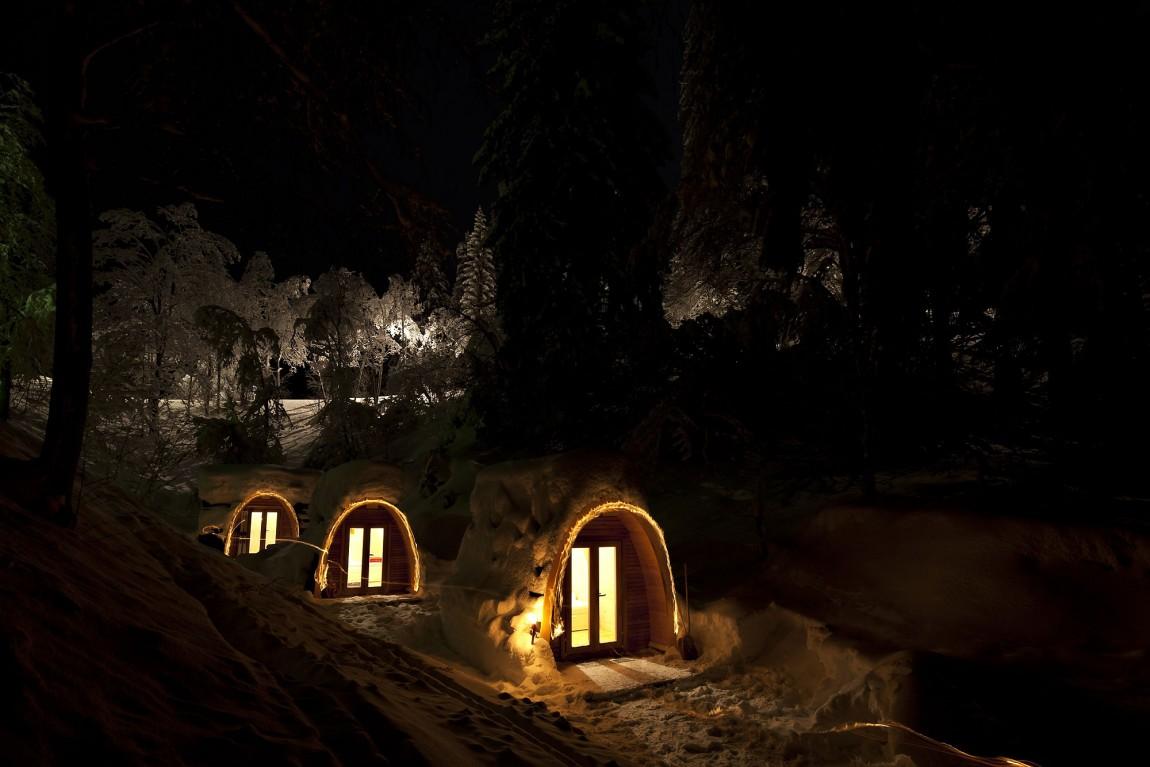 Hoteles con encanto podhotel un refugio ecol gico para - Refugios con encanto ...
