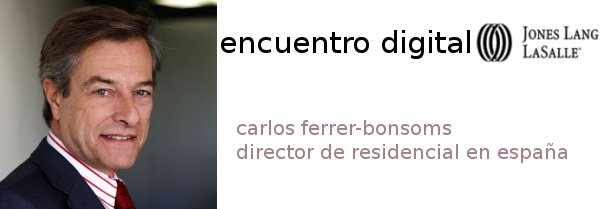 carlos ferrer-bonsoms, director de residencial de jones lang lasalle