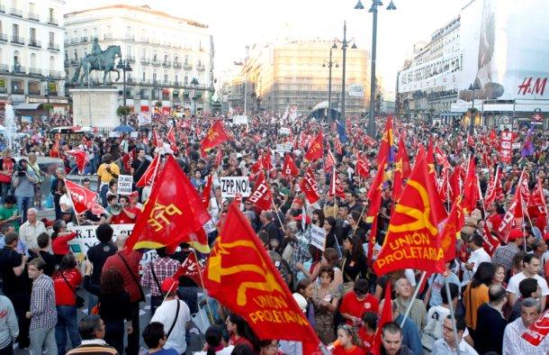 los sindicatos ugt y ccoo convocan una huelga general el próximo 29 de marzo