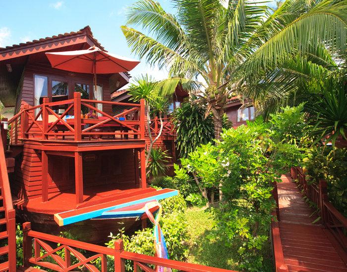 Hoteles con encanto: the imperial boat house, un resort con forma de barco en las playas de Tailandia