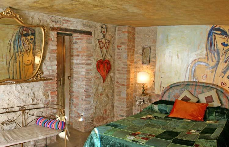 Hoteles con encanto: residenza d´Arte, para dormir entre obras de arte