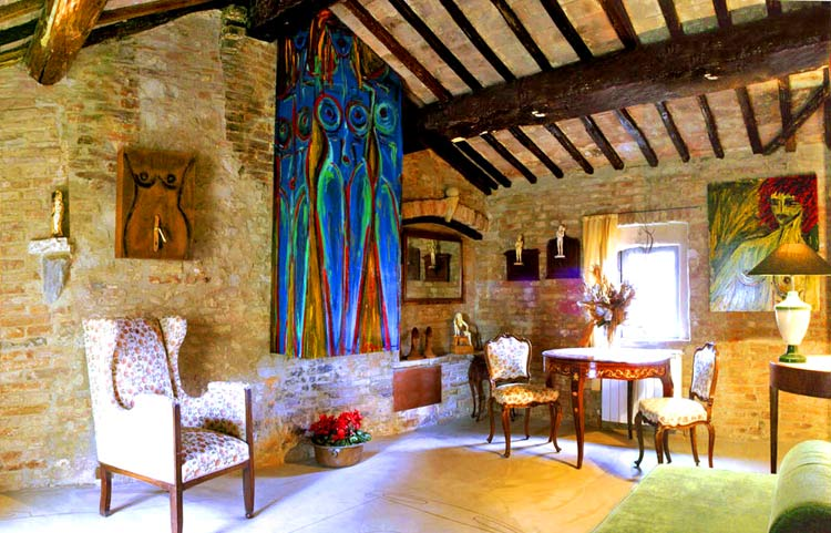 Hoteles con encanto residenza d arte para dormir entre - Hoteles con encanto en la toscana ...