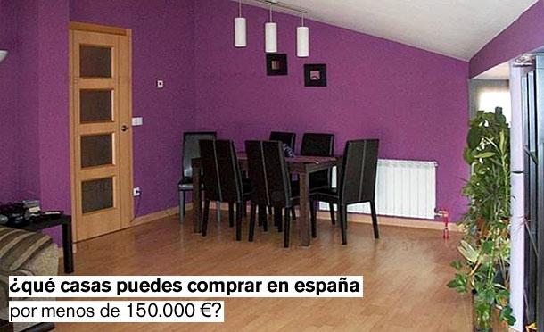 con 150.000 euros se puede aspirar a viviendas muy diferentes por toda españa