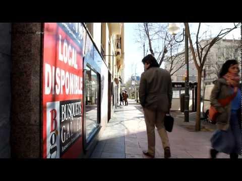 La crisis expulsa al pequeño comercio del barrio Salamanca (Madrid), llenándolo de locales en venta y alquiler