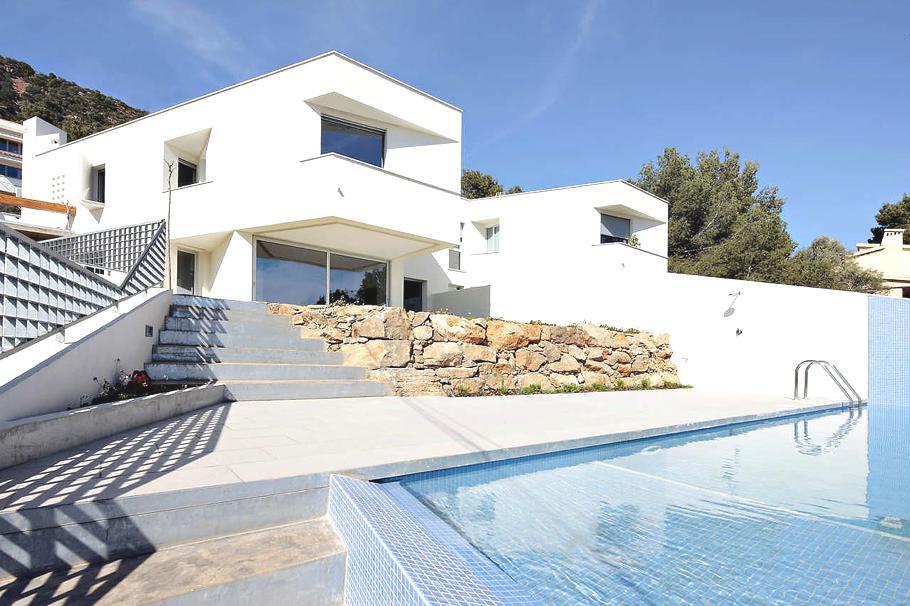 Casas de ensueño: vivienda contemporánea con vistas a la costa azahar en castellón