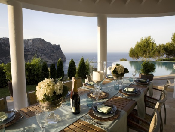 Casas de ensueño: mansión de diseño en mallorca para vislumbrar el mediterráneo