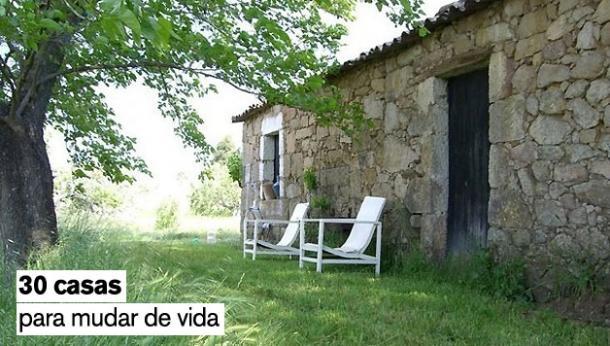 casas para cambiar el estress de la ciudad por el campo en portugal