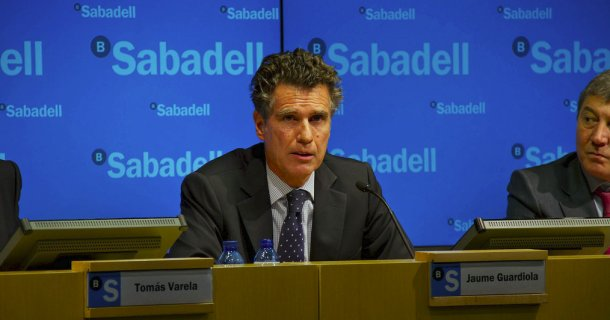 jaume guardiola, consejero delegado de banco sabadell. vía: banco sabadell en flickr