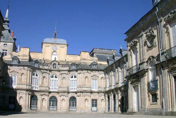 patio interior del palacio real de la granja de san ildefonso