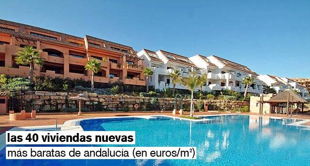 viviendas nuevas baratas en andalucía