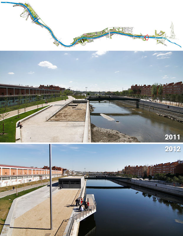 Parque Madrid río: revisión de su estado de conservación un año después de su inauguración
