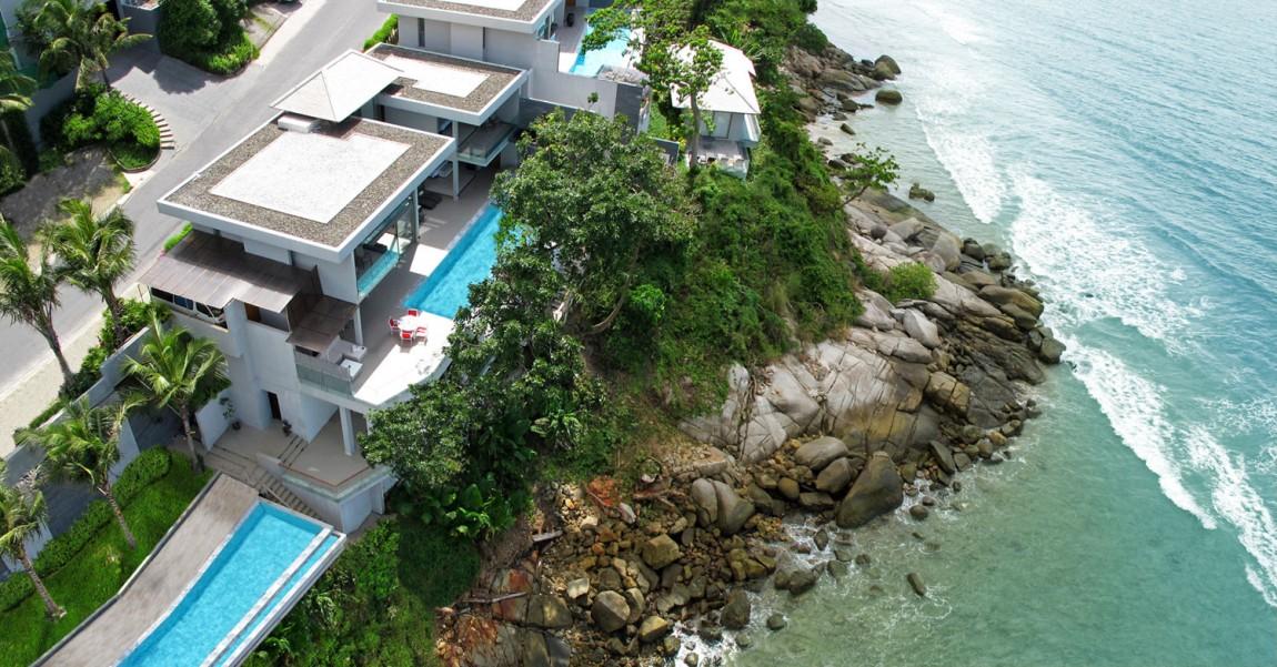 Casas de ensueño: villa contemporánea acariciada por el mar de Tailandia