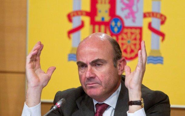 luis de guindos, ministro de economia