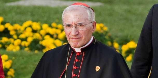 el cardenal rouco varela, presidente de la conferencia episcopal española