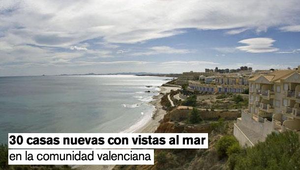 viviendas con vistas al mar en la comunitat valenciana