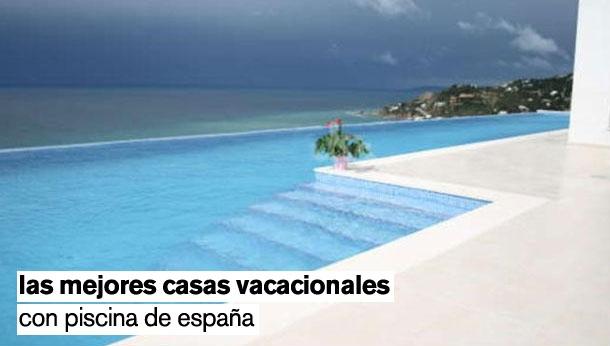 Las mejores casas con piscina para alquilar este verano en for Casa con piscina para alquilar