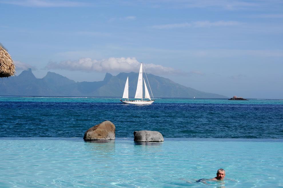 piscina en tahití