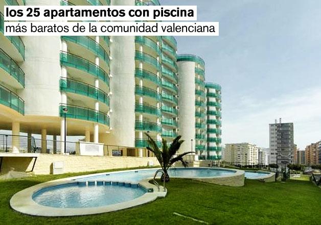 Los 24 apartamentos nuevos con piscina m s baratos de la for Apartamentos con piscina en valencia