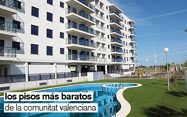Los 32 pisos nuevos m s baratos de la comunidad valenciana for Amueblar piso barato valencia