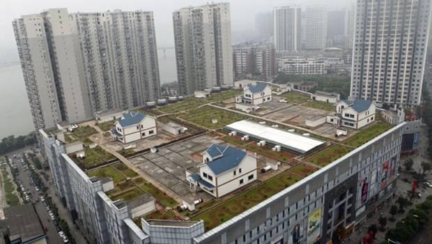 viviendas del centro comercial de zhuzhou (fuente: chinadaily.com)