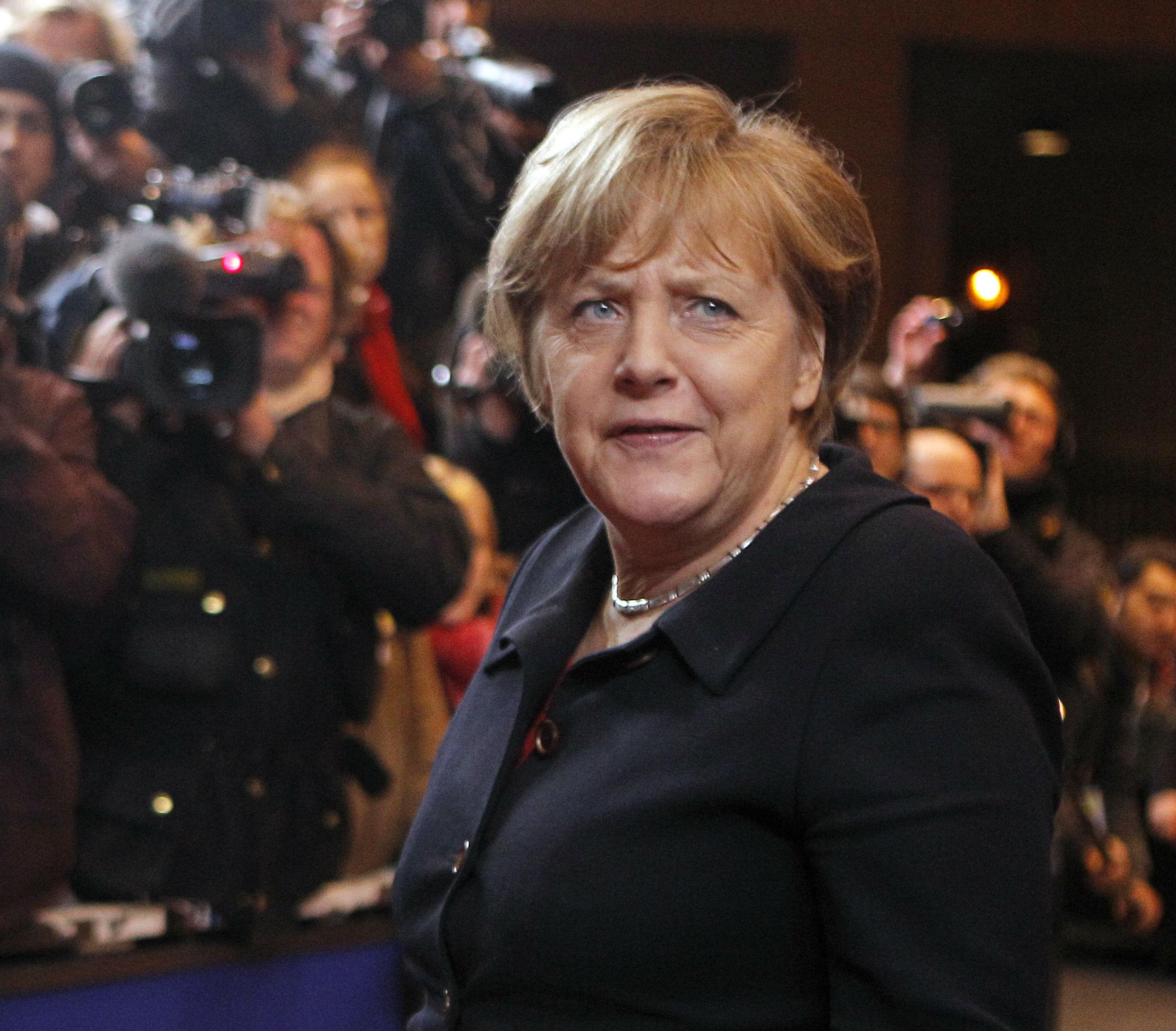 Merkel pide a sus socios que 'midan' sus palabras en esta fase 'decisiva' para Grecia