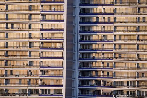plattenbauten situado en berlin