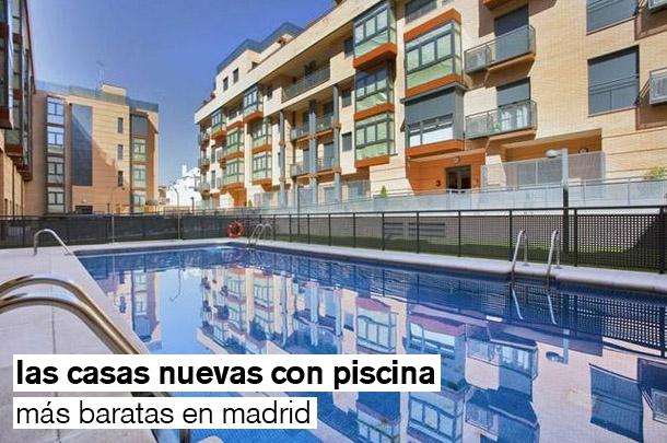 Las 33 casas nuevas con piscina m s baratas de la comunidad de madrid tabla idealista news - Casas con parcela baratas cerca de madrid ...