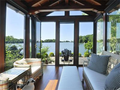 Casas de ensueño: una mansión de piedra junto al estrecho de long island (eeuu)