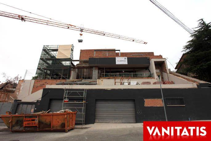 casa en construcción en barcelona de piqué y shakira (fuente: vanitatis)