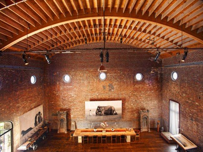Transformación inmobiliaria: de sala de conciertos a loft de lujo (fotos)