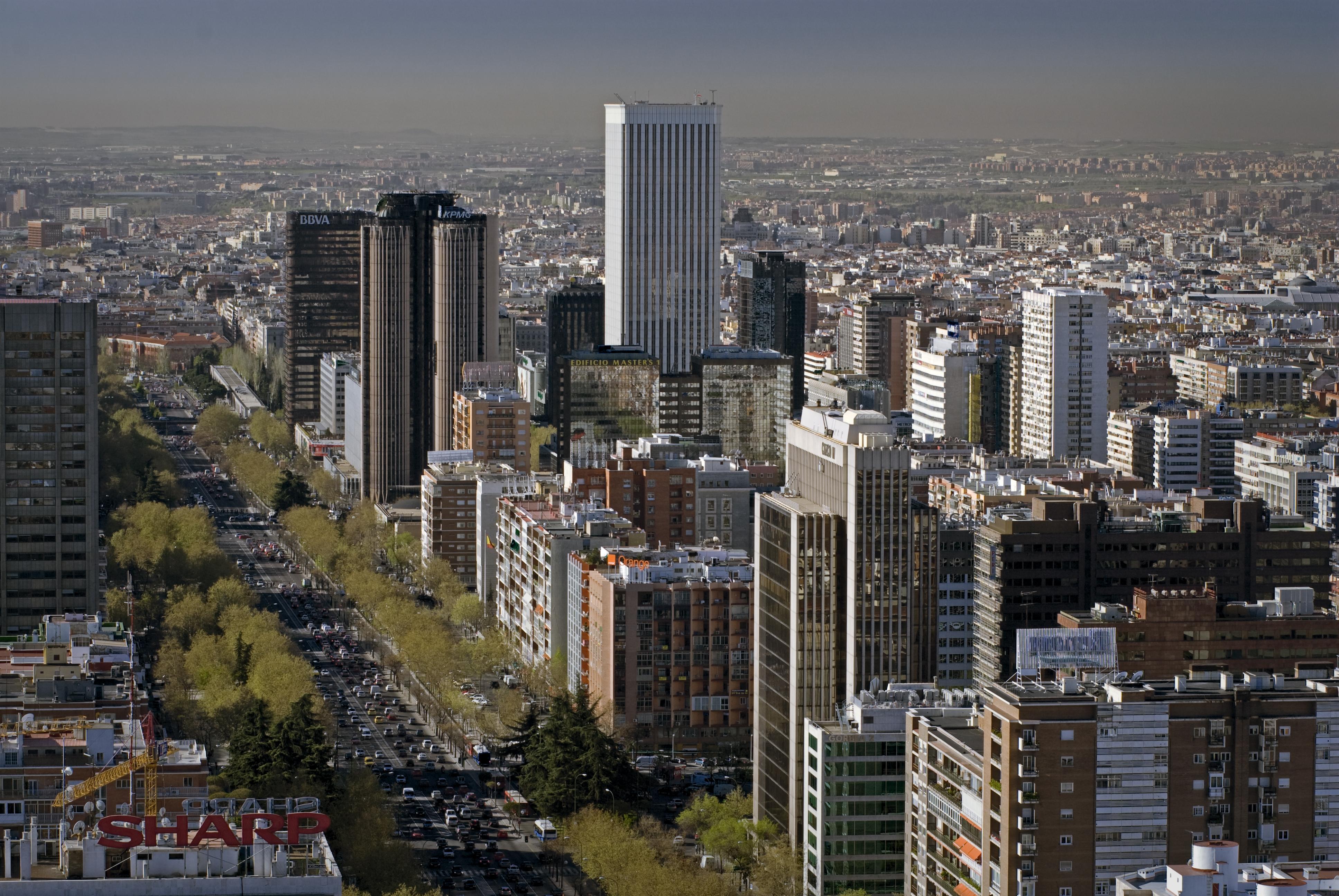 El precio del alquiler de las oficinas de madrid cede un 40 desde los m ximos de 2007 - Oficinas de adecco en madrid ...